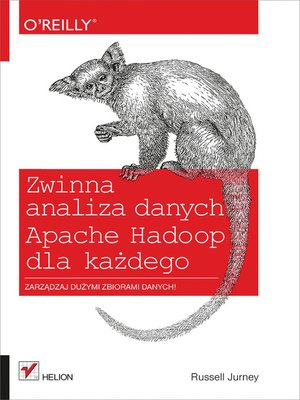 cover image of Zwinna analiza danych
