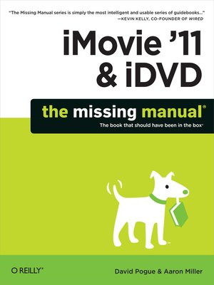 cover image of iMovie '11 & iDVD