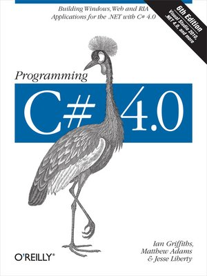 cover image of Programming C# 4.0