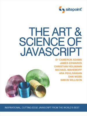 cover image of The Art & Science of JavaScript