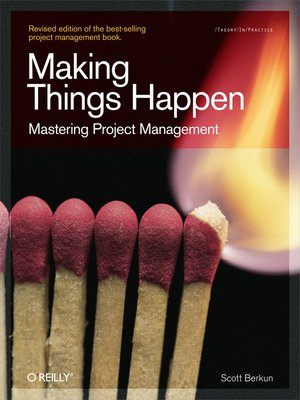 cover image of Making Things Happen