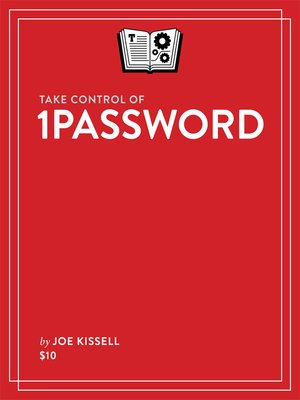 cover image of Take Control of 1Password