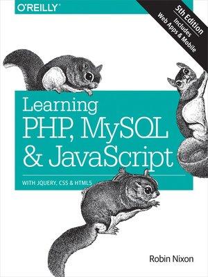cover image of Learning PHP, MySQL & JavaScript
