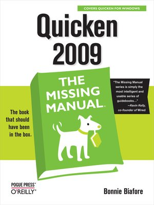 cover image of Quicken 2009