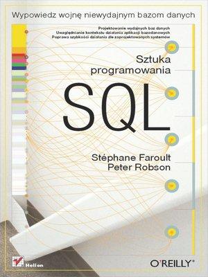 cover image of SQL. Sztuka programowania