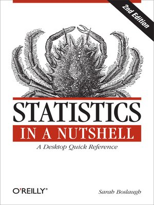cover image of Statistics in a Nutshell