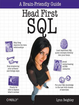 cover image of Head First SQL