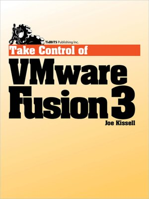 cover image of Take Control of VMware Fusion 3