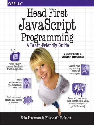 cover image of Head First JavaScript Programming