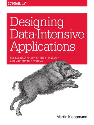 cover image of Designing Data-Intensive Applications