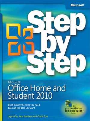 cover image of Microsoft® Office Home & Student 2010 Step by Step