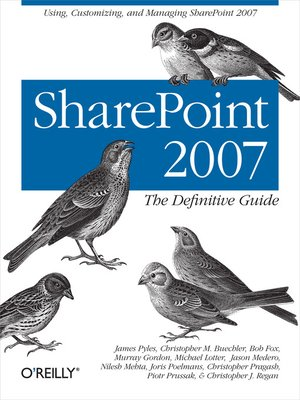 cover image of SharePoint 2007