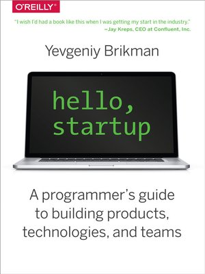 cover image of Hello, Startup