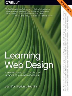 cover image of Learning Web Design
