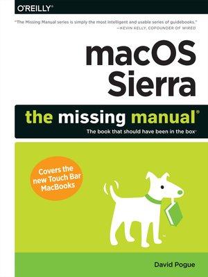 cover image of macOS Sierra