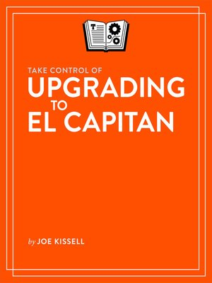 cover image of Take Control of Upgrading to El Capitan