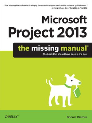 cover image of Microsoft Project 2013