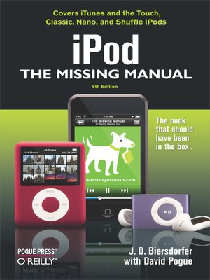 cover image of iPod:  the Missing Manual
