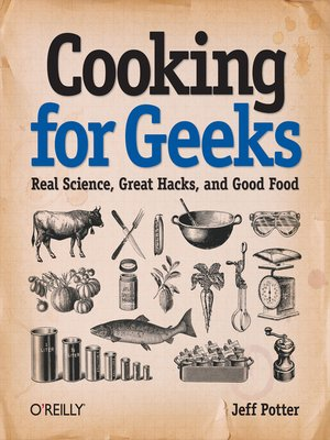cover image of Cooking for Geeks