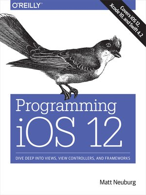 cover image of Programming iOS 12