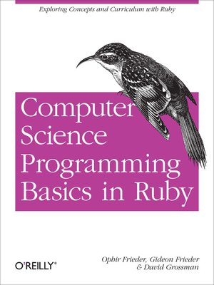 cover image of Computer Science Programming Basics in Ruby