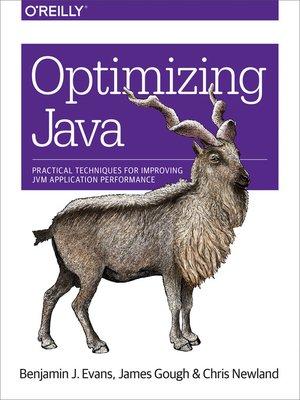 cover image of Optimizing Java