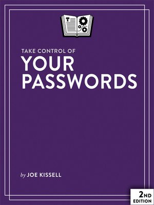 cover image of Take Control of Your Passwords