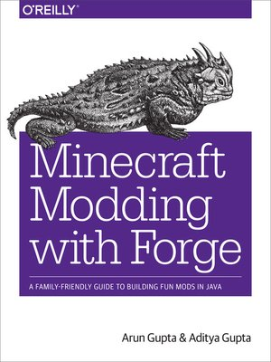 cover image of Minecraft Modding with Forge