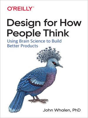 cover image of Design for How People Think