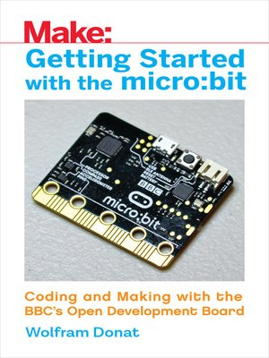 cover image of Getting Started with the micro:bit