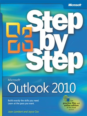 cover image of Microsoft® Outlook® 2010 Step by Step