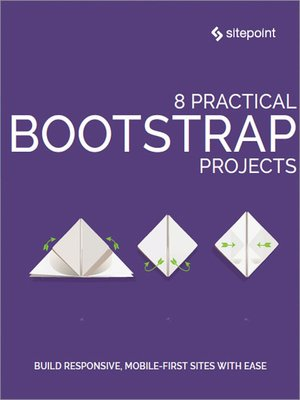 cover image of 8 Practical Bootstrap Projects