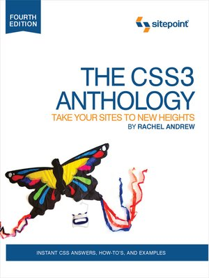 cover image of The CSS3 Anthology