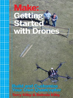 cover image of Make - Getting Started with Drones