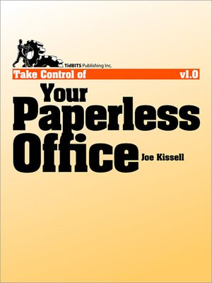 cover image of Take Control of Your Paperless Office