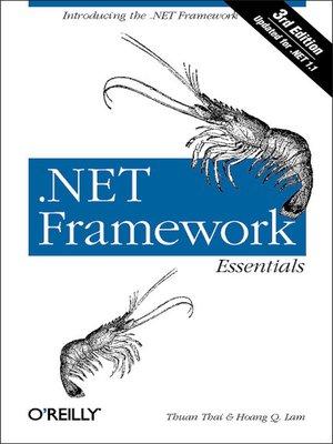cover image of .NET Framework Essentials