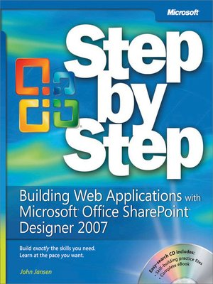 cover image of Building Web Applications with Microsoft® Office SharePoint® Designer 2007 Step by Step