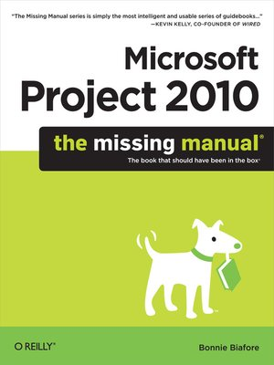 cover image of Microsoft Project 2010