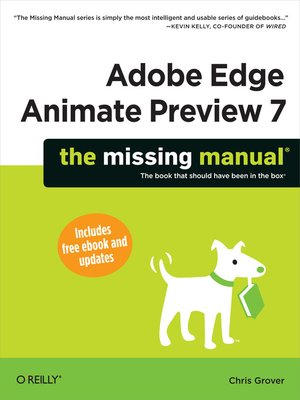 cover image of Adobe Edge Animate Preview 7