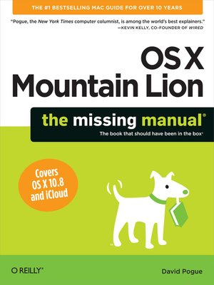 cover image of OS X Mountain Lion