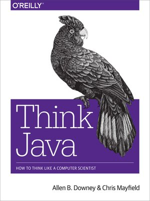 cover image of Think Java