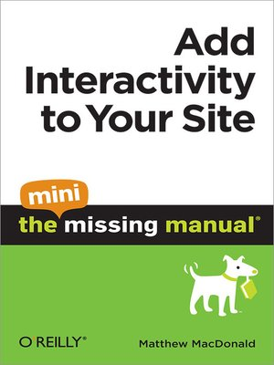cover image of Add Interactivity to Your Site