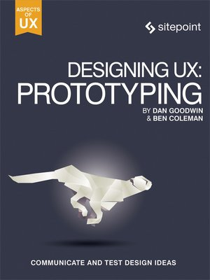 cover image of Designing UX