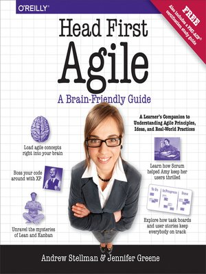 cover image of Head First Agile