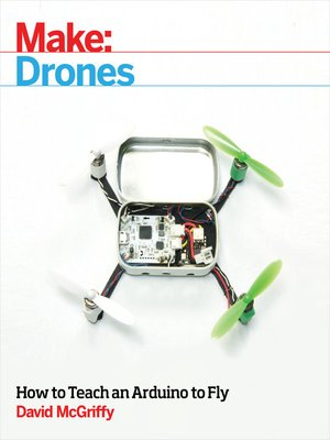 cover image of Make: Drones