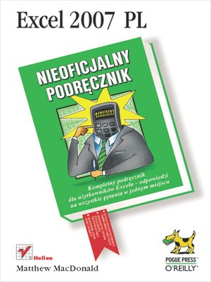 cover image of Excel 2007 PL. Nieoficjalny podr?cznik