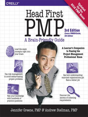 cover image of Head First PMP