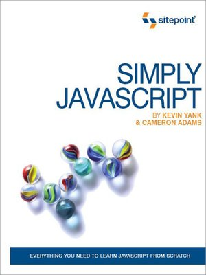 cover image of Simply JavaScript