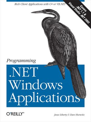 cover image of Programming .NET Windows Applications