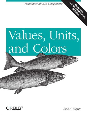 cover image of Values, Units, and Colors
